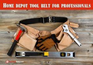Home depot tool belt