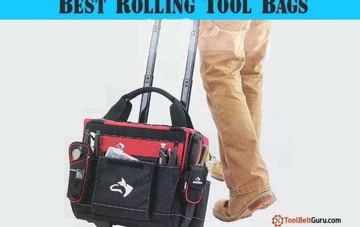 BEST Rolling Tool Bag tote