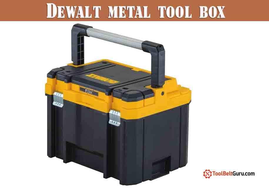 Dewalt metal tool box review