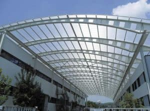 poly carbonate roofing