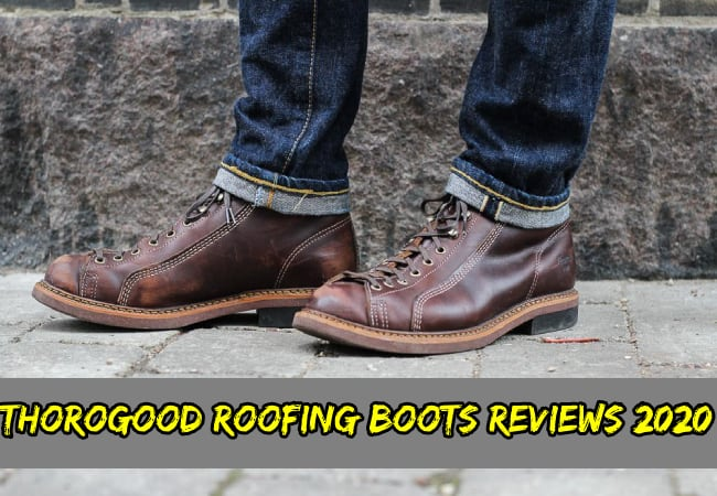 Thorogood roofing boots