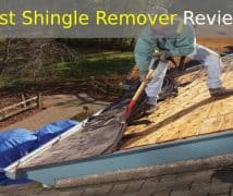 best shingle remover
