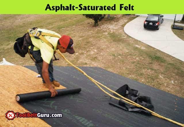 Asphalt-Saturated Felt