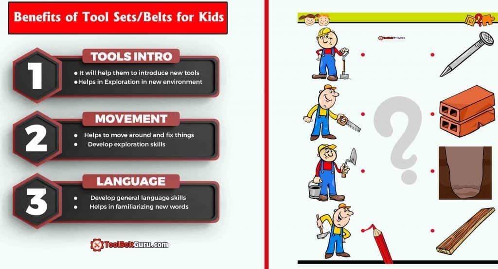 Benefits of Tool belt for Kids